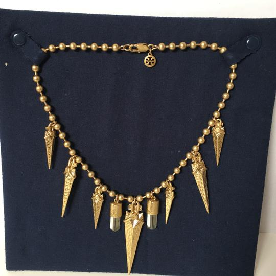 Tory Burch Arrowhead Bib Necklace Image 5