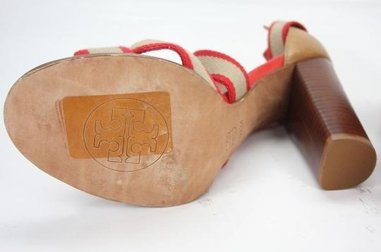 Tory Burch Red Pumps Image 1
