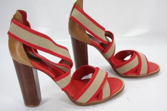 Tory Burch Red Pumps Image 4