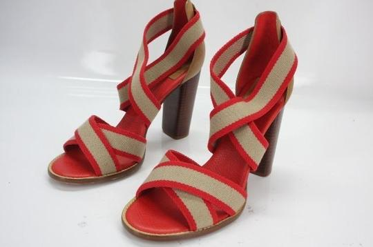 Tory Burch Red Pumps Image 9