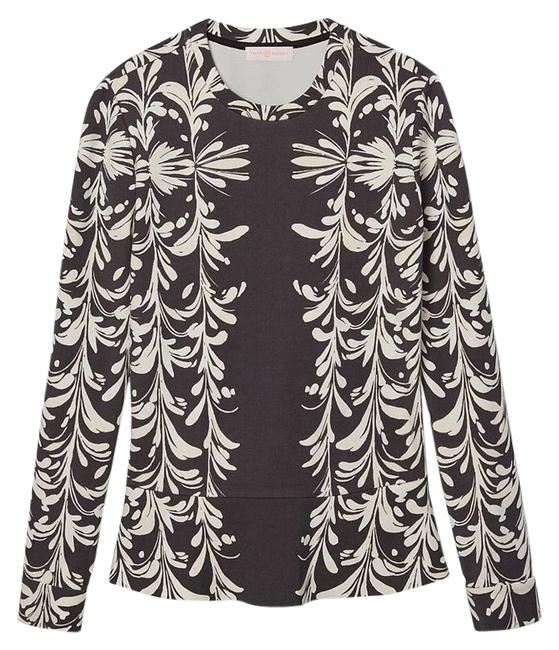 Preload https://img-static.tradesy.com/item/13424935/tory-burch-printed-ponte-ruffle-hem-sweater-0-1-650-650.jpg