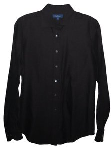 Faconnable Button Down Shirt Chocolate Brown