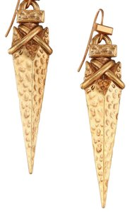 Tory Burch Arrowhead Metal Drop Earring