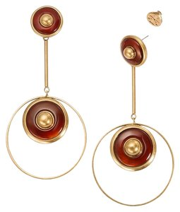 Tory Burch Semiprecious Stone Drop Earring