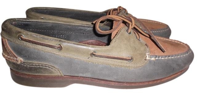 Item - Multicolor Mens Country Leather Suede Boat Moccasin 10 1/2 M Sneakers Size US 10.5 Regular (M, B)