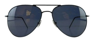 Gucci Black Metal Frame Aviator Sunglasses