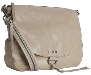 Nicole Miller Leather Shoulder Bag