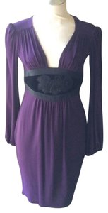 Ingwa Melero short dress Aubergine on Tradesy