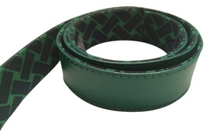 Talbots Talbot's Reversible Green Leather Belt