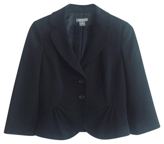 Preload https://img-static.tradesy.com/item/13427797/ann-taylor-black-fitted-flare-waist-blazer-size-petite-2-xs-0-1-650-650.jpg