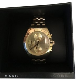 Marc by Marc Jacobs Marc Jacobs Gold Peeker Chrono Bracelet 36MM Watch