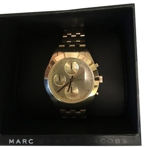 Marc Jacobs Marc Jacobs Gold Peeker Chrono Bracelet 36MM Watch