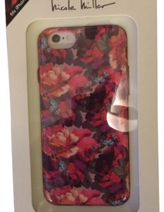 Nicole Miller Nicole Miller Flexible Fit Soft TPU Case for iPhone 6/6s