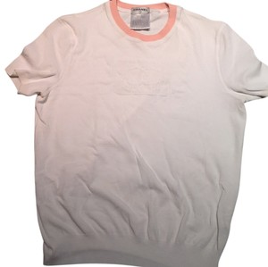 Chanel Top White and Pink