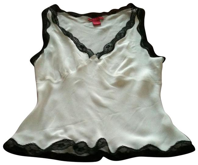 Preload https://img-static.tradesy.com/item/13428256/sunny-leigh-white-silk-with-black-lace-edging-sleeveless-blouse-size-petite-8-m-0-14-650-650.jpg