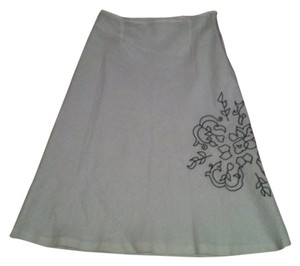 richard malcolm Linen Casual Never-worn Easter Skirt White