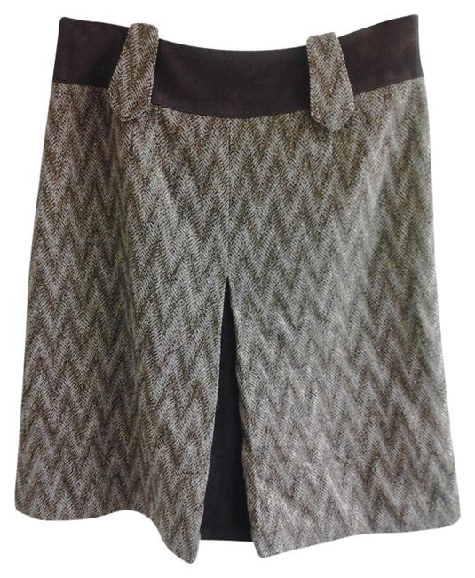 Preload https://item1.tradesy.com/images/etcetera-brown-and-beige-knee-length-skirt-size-2-xs-26-1342895-0-0.jpg?width=400&height=650