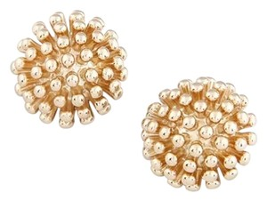 New 14K Gold Filled Stud Earrings Round 1 in. J2257