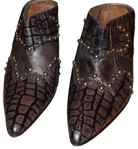 Timothy Hitsman Silver/Gold Mules