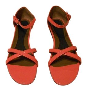 Marni Crisscross Strap Versatile Style Comfortable Made In Italy Lipstick Sandals
