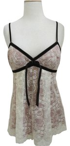 Robert Rodriguez Lace Romantic Pretty Top ivory