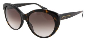 David Yurman * David Yurman Cat Eye Havana Sunglasses DY079A 22