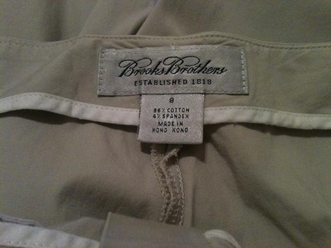 Brooks Brothers Relaxed Fit Business Casual Khaki/Chino Pants Beige Image 4