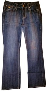 Inc. Denim Regular Fit Boot Cut Jeans-Medium Wash