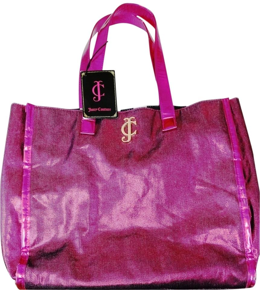 juicy couture new pink tote bag totes on sale. Black Bedroom Furniture Sets. Home Design Ideas