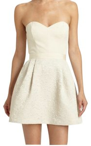 Erin featherston Sweetheart Strapless Mini Dress