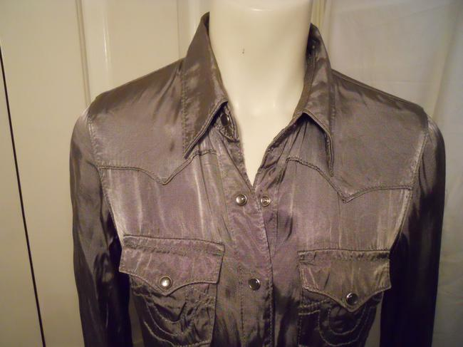 True Religion Top pewter/silver Image 1