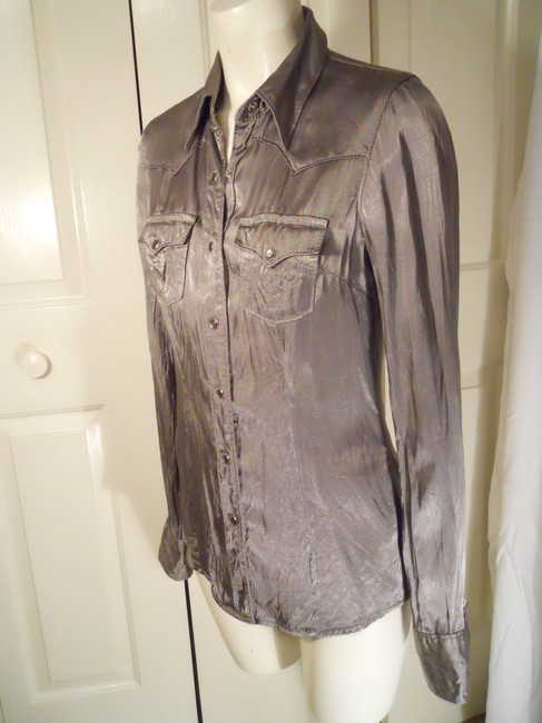 True Religion Top pewter/silver Image 2