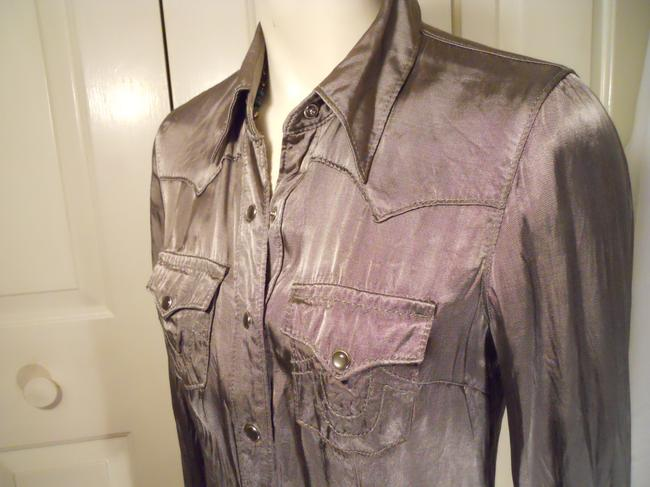 True Religion Top pewter/silver Image 3