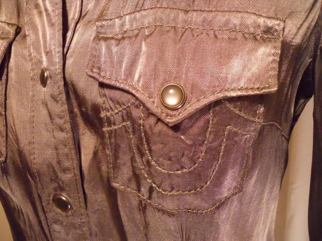 True Religion Top pewter/silver Image 4