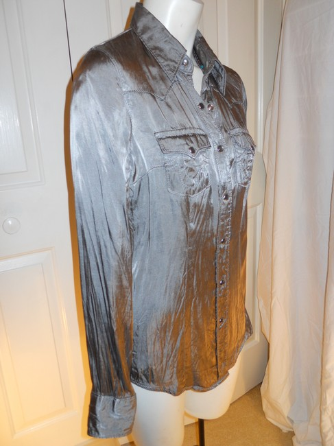 True Religion Top pewter/silver Image 5