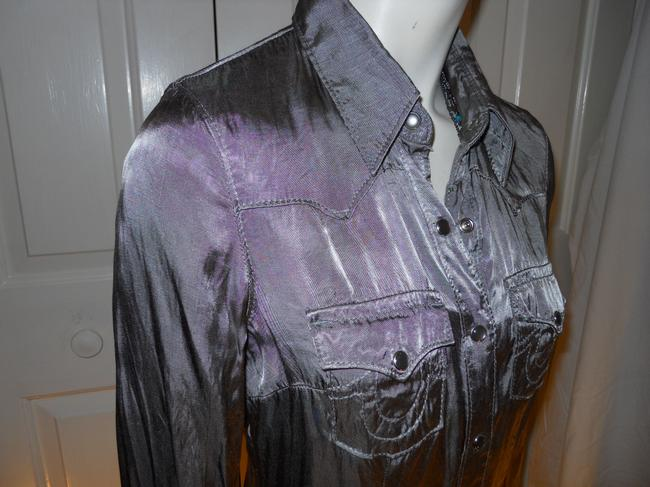 True Religion Top pewter/silver Image 6