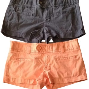 American Eagle Outfitters Shorts Peach And Blue