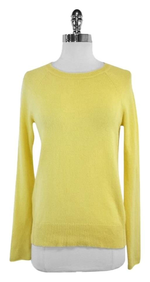 Joie Yellow Cashmere Sweater/Pullover Size 0 (XS) - Tradesy