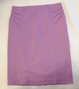New York & Company Skirt Lilac
