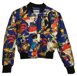 Moschino Looney Tunes Blue Jacket