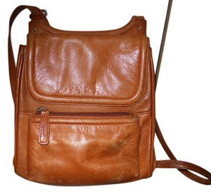 Osgoode Marley Leather Organizer Cross Body Bag
