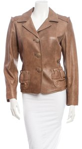 Oscar de la Renta Leather Jacket