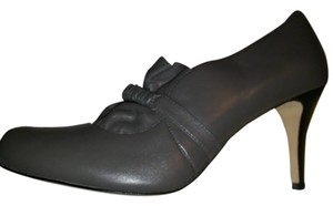 Plenty by Tracy Reese Leather Soft Comfortable Casual Formal Grey Pumps