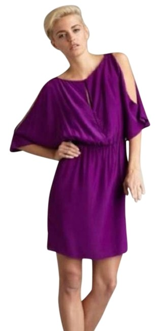 Preload https://item1.tradesy.com/images/elizabeth-and-james-raspberry-keyhole-silk-pink-purple-above-knee-night-out-dress-size-2-xs-134350-0-1.jpg?width=400&height=650