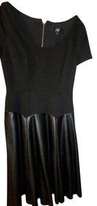 A.B.S. by Allen Schwartz Leatherette Skirt Abs Dress