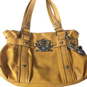 Kathy Van Zeeland Hobo Mustard Shoulder Bag