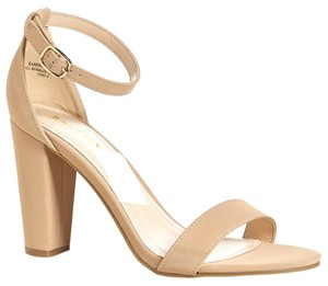 Bamboo Beige Pumps