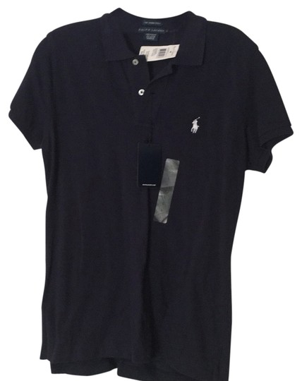 "60%OFF Ralph Lauren Navy ""the Skinny Polo"" Top - 60% Off Retail"