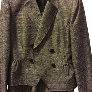 Tahari Gray skirt suit