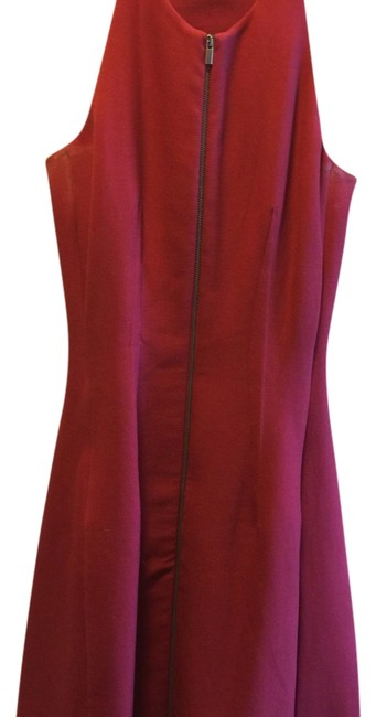 Preload https://img-static.tradesy.com/item/13436113/bcbgmaxazria-red-mid-length-cocktail-dress-size-2-xs-0-1-650-650.jpg